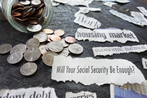Social Security newspaper headlines