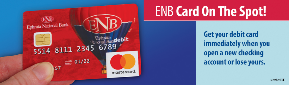 ENB Card on the Spot