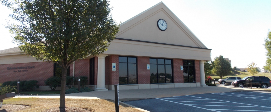 Exterior image of the Ephrata National Bank in the Blue Ball PA location