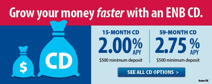 Grow Your Money Faster with an ENB CD