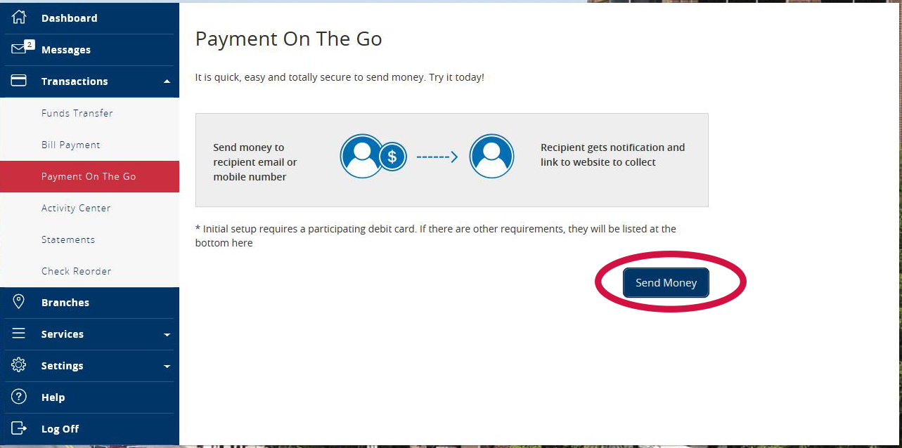 Payment Go First time