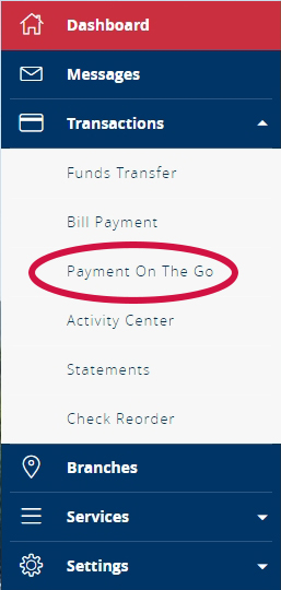 Payment on the Go