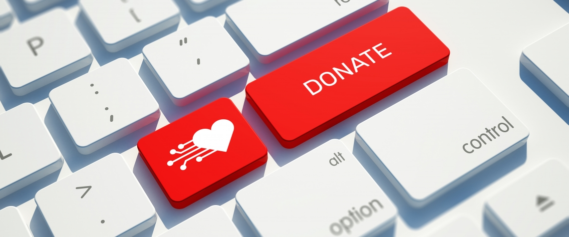 Online Donation Keyboard mage