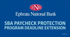 SBA Paycheck Protection Program Deadline Extension Image