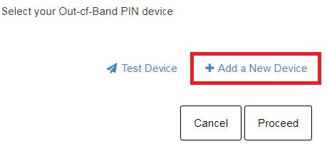 Step Three Add Device