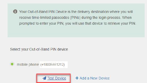 Step 5 Trust Test Device
